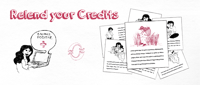 Relend your credits
